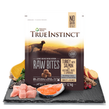 True Instinct Raw Bites - Turkey with Salmon For Dogs 1.2kg