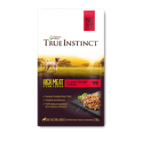 True Instinct High Meat Fillet Wet Pouch - Grass-Fed Beef For Small Breed Dogs 150g x 8pk