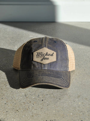 Legacy Old Favorite Trucker Hat - Leather Patch