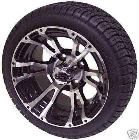 "12"" Typhoon Wheel On  Low Pro Street Tire"