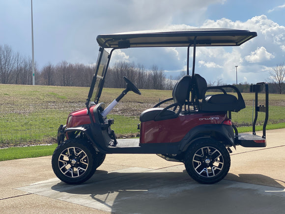 2021 Club Car Lifted  Onward Gas Four Passenger Golf Cart
