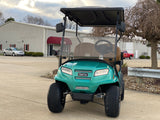 Club Car  Onward Gas Four Passenger Ocean Metallic Golf Cart