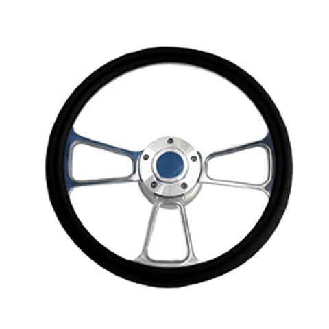"3 Spoke Billet 14"" Steering Wheel"
