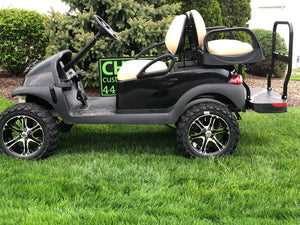 Club Car Precedent Refurbished Lifted  Four Passenger Electric Golf Cart