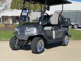 Club Car  Onward Gas Four Passenger Platuim  Metallic Golf Cart