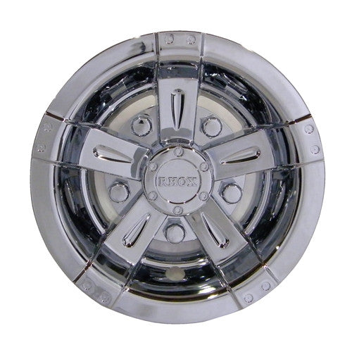 "8"" Chrome RHOX Vegas Wheel Covers"