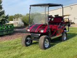 Ezgo Custom Electric  Lifted Four Seater