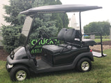 2021 Club Car Precedent Black  Gas Four  Passenger Golf Cart