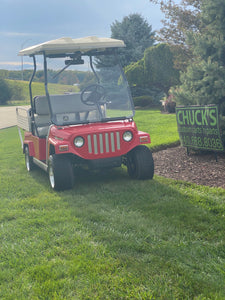 Jeep Body Club Car Four Passenger Electric Golf Cart