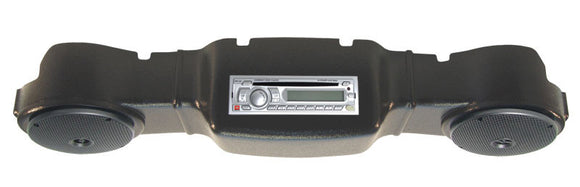 ABS Black Complete Radio Console Kit