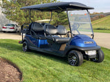 2021 Club Car Precedent Electric Six Seater Factory Referbished Golf Cart