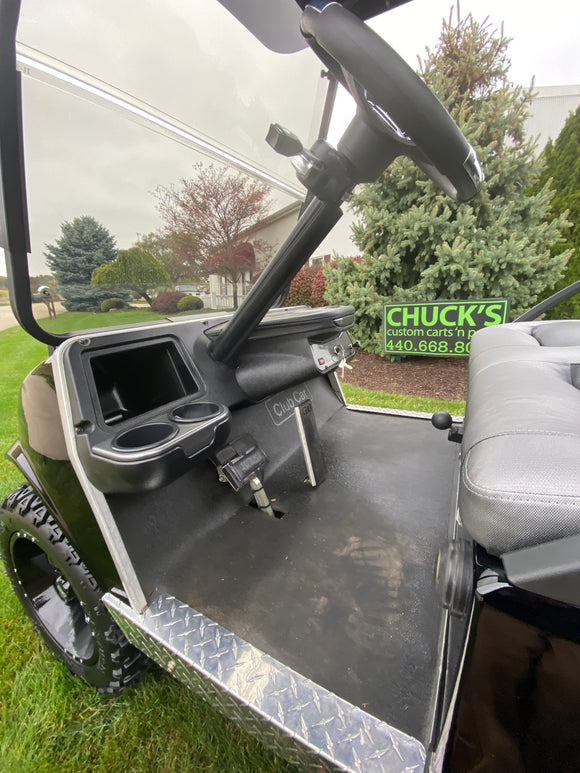Club Car Ds  Gas  Custom Four   Passenger Lifted Golf Cart