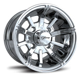 "10""  Platinum Fairway Alloy  Wheel On Street Tire ""Free Shipping"""