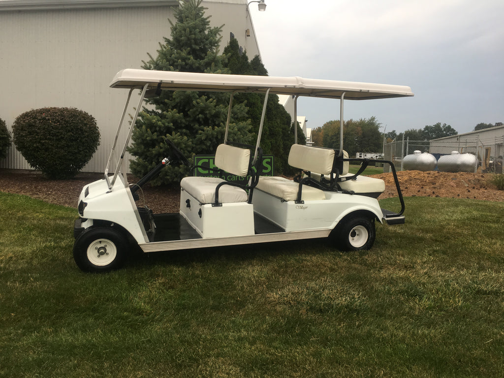 Club Car Ds Six Seater Gas Golf Cart