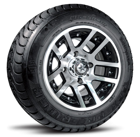 "10""  Fairway Alloy Illusion Wheel on Street Tire ""Free Shipping"""