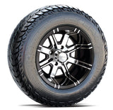 "Fairway Alloy 12"" Aggressor Wheel & Tire Combo"