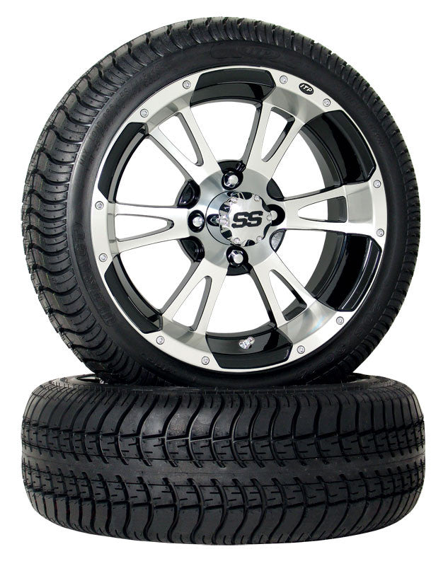 "12"" SS 112 On 205/30/12  Low Pro Street Tire ""Free Shipping"""