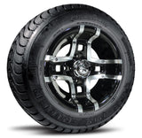 "10"" Prestige Fairway Alloy Wheel On Street Tire "" Free Shipping"""