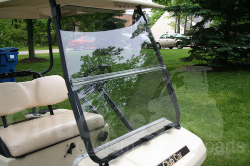 Club Car DS Folding Windshield 2000.5 + Newer
