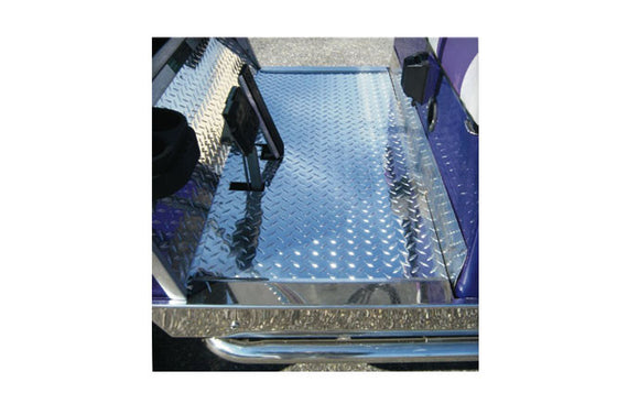 Club Car Aluminum  Diamond Plate Floor Cover