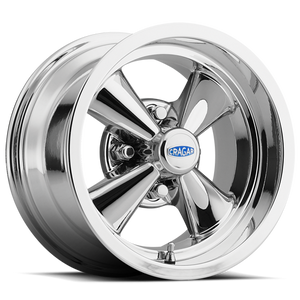 10 Inch Cragar Wheel And Tire Combo