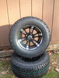 "Fairway Alloy 12"" Sixer Wheel On Lifted Street Tire Combo"