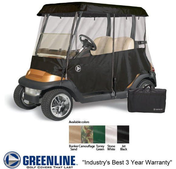 Four Sided Club Car Precedent Enclosure