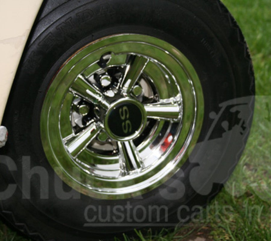 "8"" Chrome SS Wheel Covers"