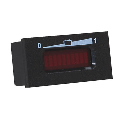 LED Horizonal State Of Charge Meter