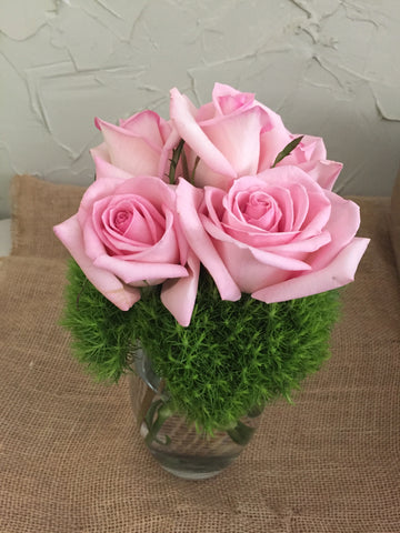 Pretty Pink Rose Bouquet