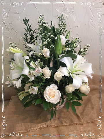 White Garden Bouquet