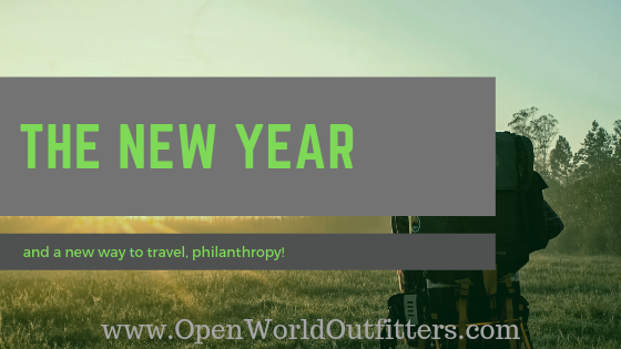 The New Year and a Stellar New Way to Travel, Philanthropy!