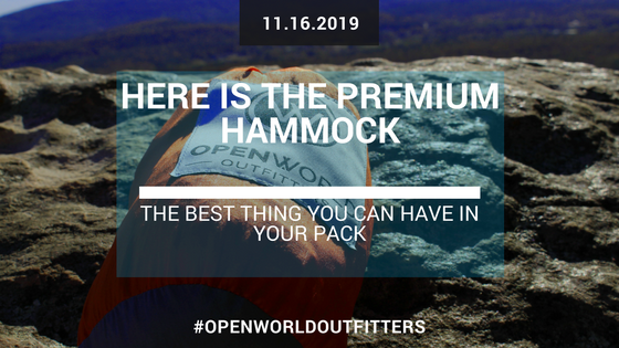 Here Is The Premium Hammock - The Best Thing You Can Have In Your Pack