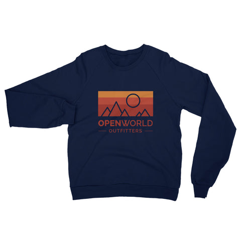 The Daybreak California Fleece Raglan Sweatshirt