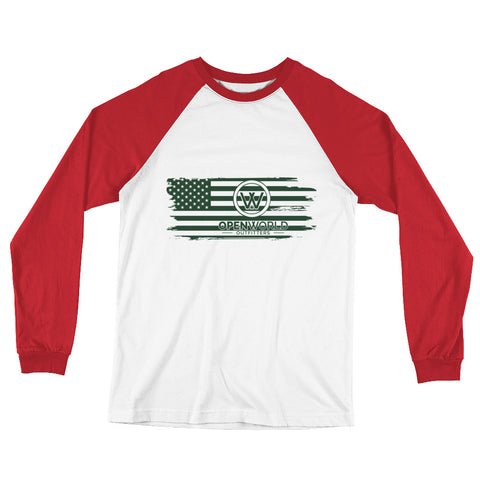 For the Flag Baseball T-Shirt