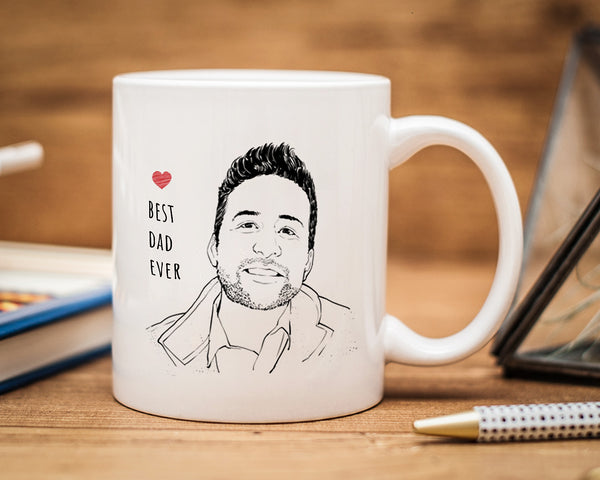 Portrait Drawing Mug
