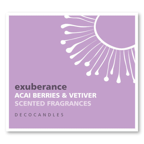 Exuberance / Acai Berries & Vetiver