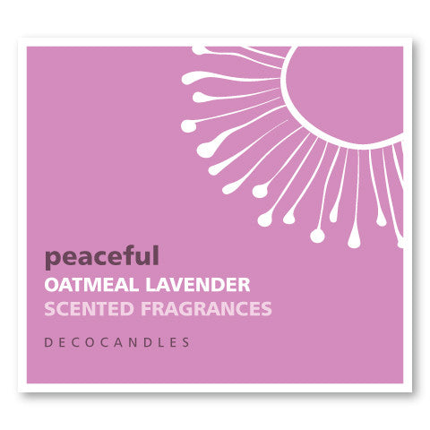 Peaceful / Oatmeal Lavender
