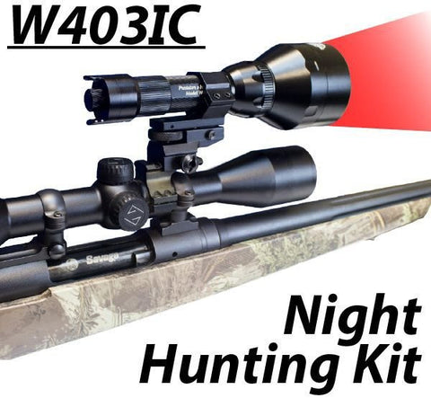 Wicked Lights W403IC Night Hunting kit RED