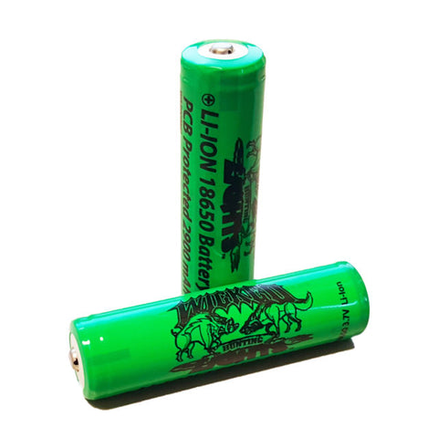 Wicked Light 18650 style batteries 3200mah