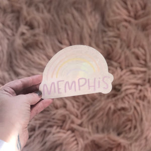 Memphis Rainbow sun catcher