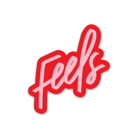 Feels sticker