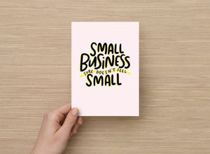 Small Business art print