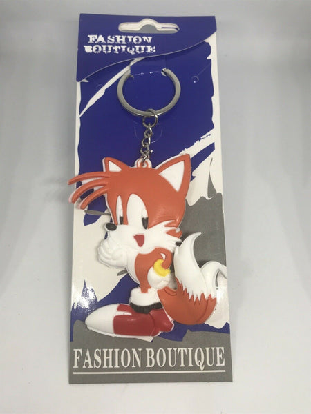 Tails ( Sonic The Hedgehog ) Keychain