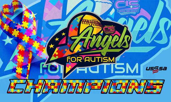 4/10 ANGELS 4 AUTISM FASTPITCH BANNER
