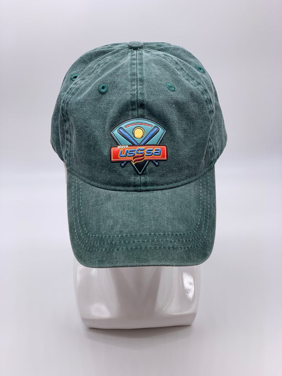 IOWA USSSA HAT - HUNTER GREEN