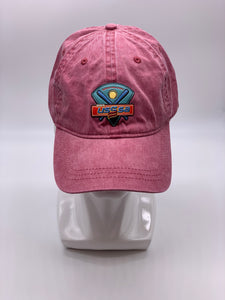 IOWA USSSA HAT - VINTAGE RED