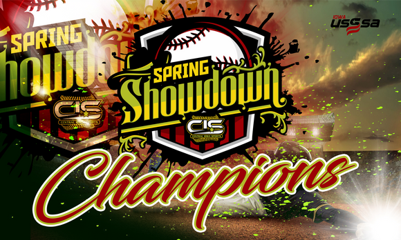 4/10 SPRING SHOWDOWN BASEBALL BANNER