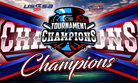 4/24 TOURNAMENT OF CHAMPIONS BASEBALL BANNER
