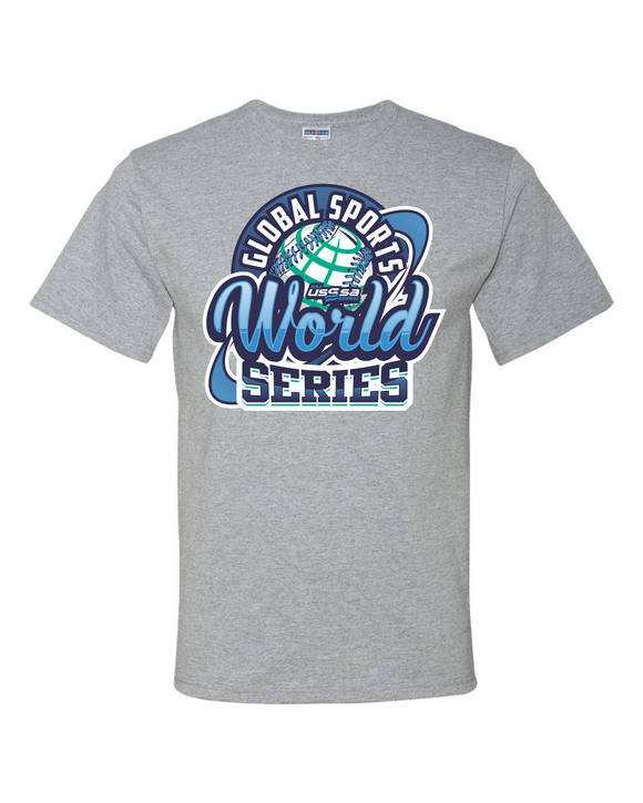 7/22 WORLD SERIES BASEBALL T-SHIRT